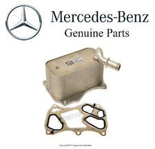 For Mercedes W166 W204 W212 X166 R231 Engine Oil Cooler & Gasket Set Genuine