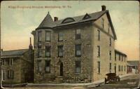 Martinsburg WV Kings Daughters Hospital c1910 Postcard