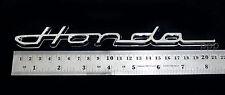 """CHROME """" Honda """" LOGO EMBLEM DECAL FOR HONDA CIVIC ACCORD CR-V HR-V JAZZ FIT NEW"""