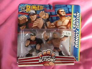 John Cena and Randy Orton WWE Rumblers Action Figures Mattel Brand New