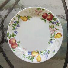 Corelle Chutney Dinner Plate Fruit Border Swirl Pattern By Corning 10 1/4 in