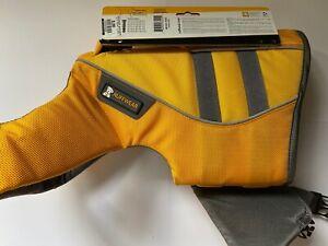 Ruffwear K9 Float Coat Dog Life Jacket NEW...size Small; Yellow