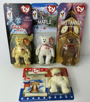 Ty Beanie Baby Bear Lot New In Package NIP 1996 McDonald's