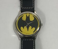NEW - Batman Fossil watch Bat Signal around the 1989 Tim Burton Movie