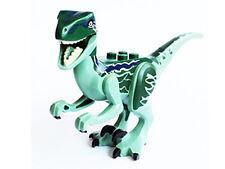 LEGO Jurassic World - Animal Dino Raptor, Black Claws - Green & Blue Back (Blue)