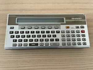 Sharp PC-1500 Licensed Clone, Pocket Computer, made in Hungary, 1980s, Faulty