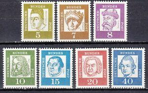 BRD 1961 Mi. Nr. 347-355 weißes Papier Postfrisch LUXUS!!!