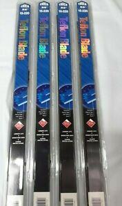 "4x Trico Teflon Windshield Wiper Blades Size 22""+ 22"" -Front Left& Right Set 04"