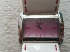 Guess - Women's Watch - White Patent Leather - Used