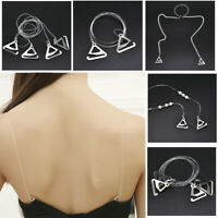 Adjustable Detachable Bra Straps Rhinestones Diamante Pearl Metal Invisible NEW