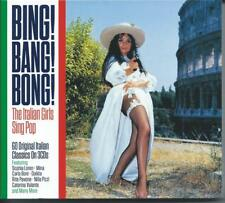 Bing! Bang! Bong! 3CD SET Italian Girls Sing 60 Italian Pop Classics NEW/SEALED