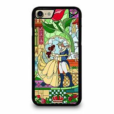 BEAUTY AND THE BEAST Disney iPhone 7 7S 7 Plus Case Phone Cover Plastic Rubber