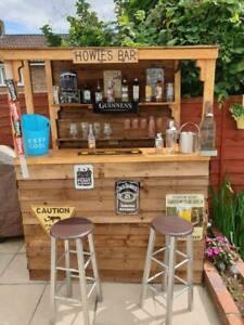 Summer Garden Bar ( Fresh Wood)