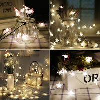 LED String Fairy Lights Wedding Party Spring Battery Decor Christmas Party FNE