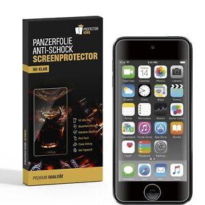 6x Panzerfolie für iPod Touch 7 ANTI-SCHOCK Displayschutzfolie HD Ultra KLAR