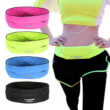 For Mobile Phones Running Jogging Sports Gym Waist Belt Soft Bum Bag Case Strap
