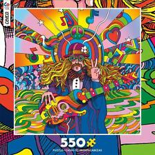 CEACO POP ART JIGSAW PUZZLE PEACE LOVE 550 PCS #2326-1