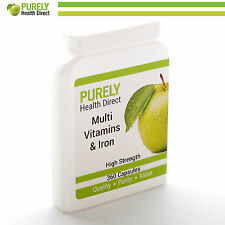 MULTI VITAMINS 360 with  Iron **Reduced** Manufactured in the UK