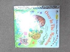 Over in the Meadow: A Nursery Counting Rhyme (A First Little Golden Book) by Ob
