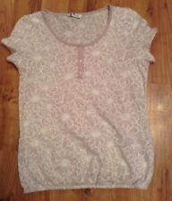 Ladies Summer Floral Top Size 8 From BHS
