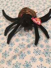 Spider Spinner Web Insect Beanie Baby Ty Spooky Webster Crawler Halloween