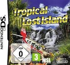 NINTENDO DS Lite DSi XL Tropical Lost Island  Wimmelbild Gebraucht Top Zustand
