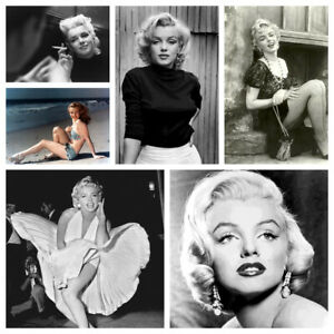 Marilyn Monroe Vintage Prints Posters Collection Bedroom Decor Multiple Sizes