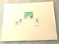 "BEATRICE WOOD   "" Ojala ""  Original color pencil Drawing  SIGNED   BEATRICE WOOD"