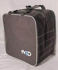 New WSD Logo Single Ski or Snowboard Boot Bag square Gray free s/h  NEW