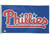 PHILADELPHIA PHILLIES MLB 3X5 Indoor Outdoor Banner Flag w/ grommets for hanging