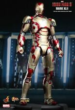 (U) 1/6 HOT TOYS MARVEL IRON MAN 3 MMS197D02 DIECAST MK42 MARK XLII FIGURE