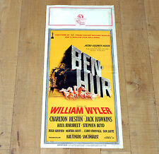 BEN HUR locandina poster Charlton Hawkins Heston Boyd Epic Tale of the Christ L5