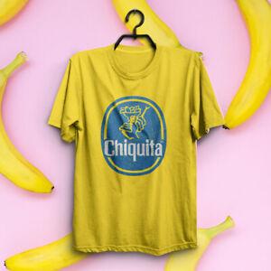 Chiquita Banana Tshirt Banane Distressed Print Tee