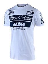 TROY LEE DESIGNS 2019 Team TLD KTM T-Shirt - White