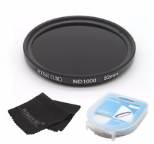 52mm Optical Slim Neutral Density ND 1000 Lens Filter for SLR DSLR