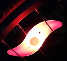 1x LED Fahrrad Speichenlicht rot Beleuchtung Rad Speichen Licht Reflektor 3 Modi