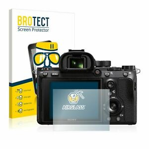 Sony Alpha 7R III , BROTECT® AirGlass® Premium Tempered Glass Screen Protector