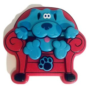 VTG Tyco Blues Clues Thinking Chair 3D Puzzle 10pc Chunky Plastic 1998 Complete