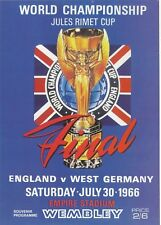 FOOTBALL  POSTCARD  -  THE SPORTING POSTCARD CO.  -  FOOTBALL  WORLD  CUP  1966