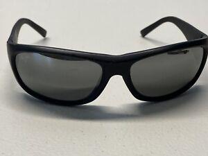 Maui Jim Black Rubberized Sunglasses Polarized