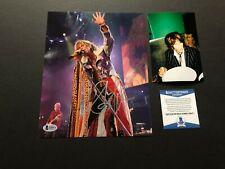 Steven Tyler Rare! signed autographed Aerosmith 8x10 photo Beckett BAS coa