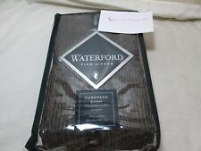 New Waterford Bed Linens Glenmore Euro European Pillow Sham - Mink Chocolate Nip
