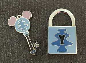 Disney WDW PWP Key & Lock Collection Stitch Pins 81468 & 97139