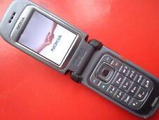 Nokia 6263 - Black (Unlocked) flip excellent ATT METRO T-Mobile