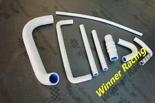 Silicone radiator hose set Fit Triumph GT6 1967-1973 8-Pieces WHITE