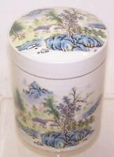 Chinese Porcelain Lidded Jar.