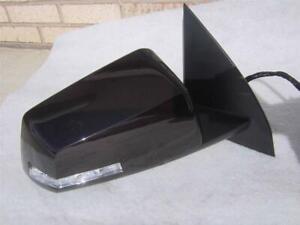 07-14 GMC Acadia Right RH Side View Mirror Heated Blind Spot Power Folding