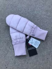 LULULEMON Pinnacle Warmth Mittens Women's Mittens Color Pink NEW w/Tags $48