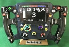 Red Bull F1 Rep RB15_Max Vstappen 1/2 size st/ng wheel, display. Not Amalgam.