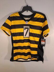 Nike Pittsburgh Steelers Ben Roethlisberger Womens Alternate Jersey #7 Size L